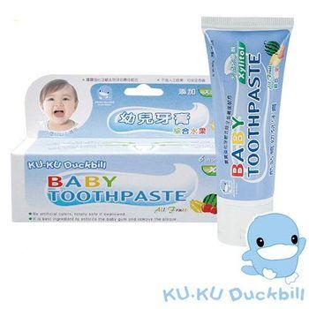 任-[KU.KU酷咕鴨]綜合水果牙膏(50g)