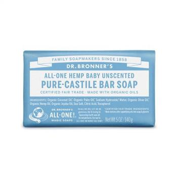 Dr.Bronner's 美國布朗博士 溫和嬰兒潔顏皂