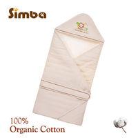 【小獅王辛巴】有機棉嬰兒包巾