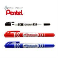 【Pentel飛龍】N65W RoHS 雙頭油性筆-10入