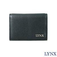 【Lynx】俐落簡約男用名片夾(咖/黑)