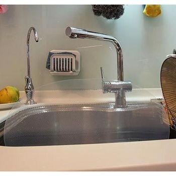 流理台水槽擋水板 水槽 洗碗 廚房 水漬 防水 擋水 清洗 洗滌 隔水 隔水器 輔助