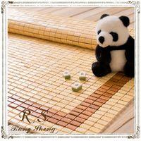 【Rung Sheng】細緻原色炭框麻將涼蓆-雙人加大