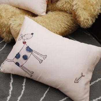 Embrace英柏絲 兒童枕/午睡枕39x29x10cm (狗狗貓貓)