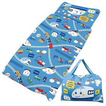 【享夢城堡】新幹線 鐵道樂園系列-鋪棉兩用兒童睡袋