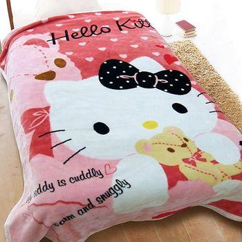 【享夢城堡】HELLO KITTY 愛的抱抱舒眠毯
