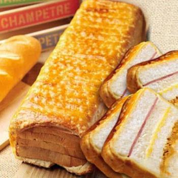 【法藍四季】超人氣組合 燻雞起酥三明治+起酥火腿肉鬆三明治(共2入)