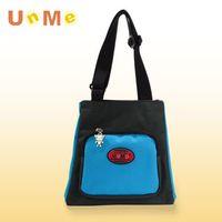 任-【任】UnMe 可愛輕巧餐袋/黑藍色