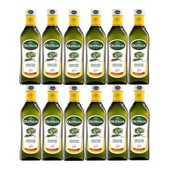 義大利奧利塔100%純橄欖油500毫升12罐