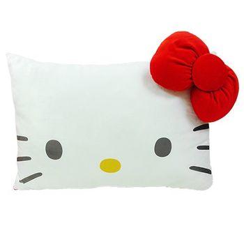 【享夢城堡】HELLO KITTY 臉型小枕