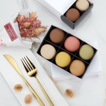 JOYCE巧克力工房-純紛馬卡龍6入禮盒