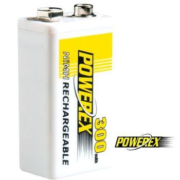 【MAHA-POWEREX】9V鎳氫充電池( MH-84V300)