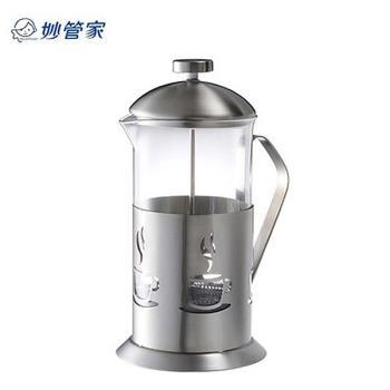 【妙管家】1.1L特級不鏽鋼沖茶器 HKP-1100