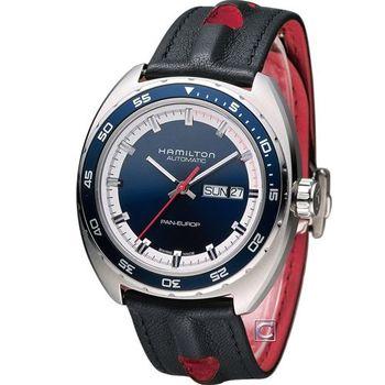 HAMILTON 漢米爾頓 國經典PanEUROP機械套錶 H35405741