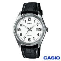 【CASIO卡西歐】數字刻度皮帶簡約男錶(MTP-1302L-7B)