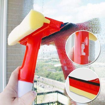 噴水玻璃刷刮刀 擦窗器 附水漬刮刀 玻璃刮 窗刮 玻璃刷 刮刀