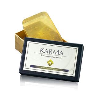 【丹麥KARMA】99純金金箔滋養育膚皂-1入組(限量版)