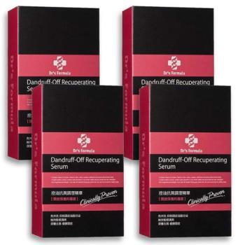 《台塑生醫》Dr's Formula控油抗屑調理精華(70g*4入)