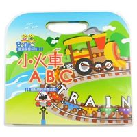 任-【BabyTiger虎兒寶】趣味磁鐵書 -  小火車 ABC