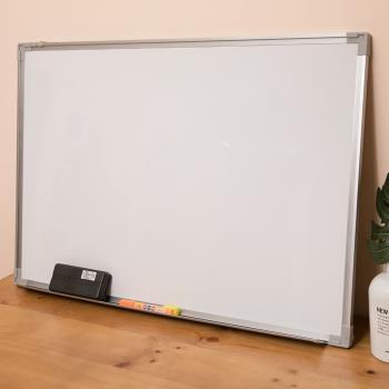 大白板 60x90 買就送板擦+白板筆 白板 磁性白板