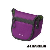 HAKUBA 日本 PIXGEAR SLIM FIT CAMERA CASE 微單眼專用 隨身保護套 紫色
