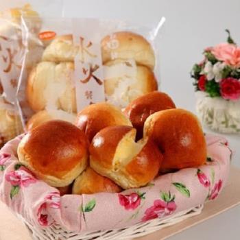 純新 黃金冰火餐包10包(10粒/包;任選-原味/黑糖)