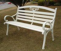 Brother Club~兄弟牌戶外風情~雅典鋁合金雙人公園椅~結構堅固耐用~庭園休閒必備~新貨到!!