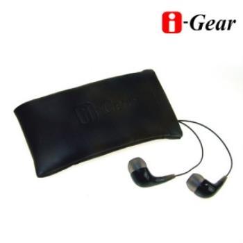 【i-Gear】 筆電/Eee PC專用高音質入耳式耳機麥克風(IEH-105BK)