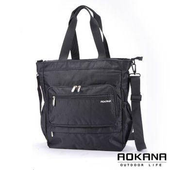【AOKANA奧卡納】台灣製系列 男仕斜背包 商務包(02-026)