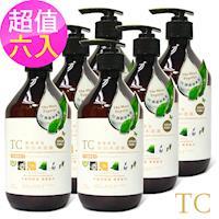 【TC系列】精油香氛亮白沐浴露(500ml)6入組