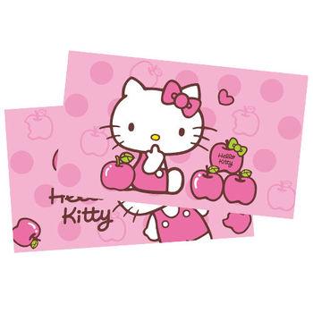 【享夢城堡】HELLO KITTY 粉紅蘋果枕套(2入)