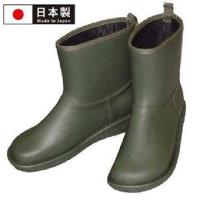 【Charming】日本製【個性雪靴雨鞋】-墨綠色-712