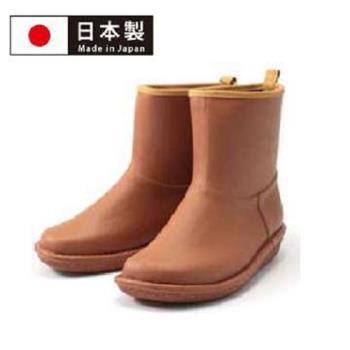 【Charming】日本製【個性雪靴雨鞋】-咖啡色-712