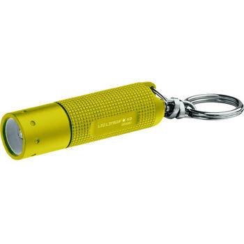 德國LED LENSER K2鎖匙圈型手電筒-黃色