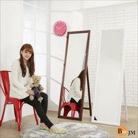 《BuyJM》實木造型兩用穿衣鏡/立鏡/壁鏡(高159寬47.5公分)