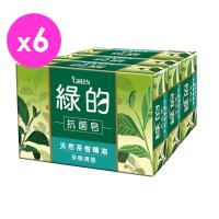 綠的GREEN 抗菌皂-茶樹清香(100g*3)*6入組