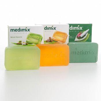 印度MEDIMIX草本香皂30入三色特惠組(125克)當地特價版