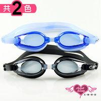 天使霓裳 抗UV防霧休閒度數泳鏡(81000-共2色)