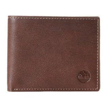 Timberland 2015男時尚Blix雙折褐色皮夾(預購)