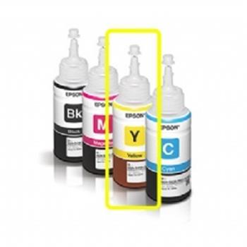EPSON 原廠墨水匣 T664400黃色墨水