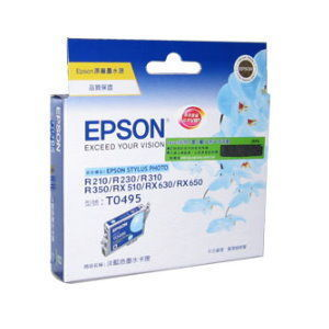 EPSON 原廠墨水匣 T049550 (淡藍)