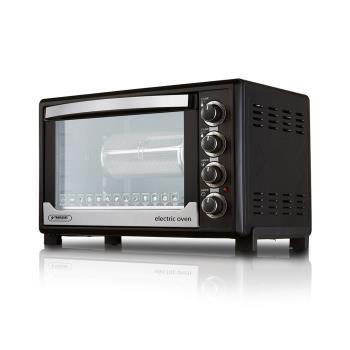 YAMASAKI 三溫控烘焙專用型全能電烤箱 SK-4580RHS(贈3D旋轉烤籠+方形烤網)
