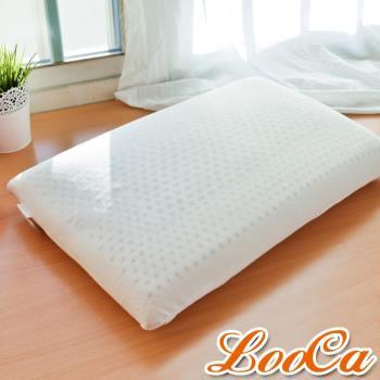 LooCa 加強護頸基本款乳膠枕2入 加贈旅行萬用吊牌
