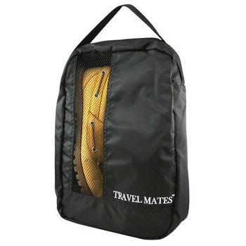 《旅行玩家》 旅行收納鞋袋(經典黑)