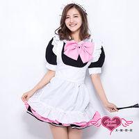 天使霓裳 夢幻寶貝 女僕 角色扮演服(黑白F)-KR1259