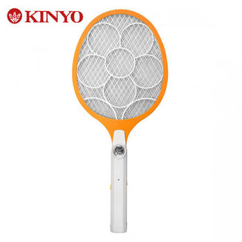 KINYO  大網面分離式充電捕蚊拍 CM-2225
