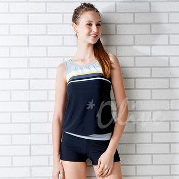 【潘它貝拉品牌】台灣製時尚二件式泳裝NO.1500312(現貨+預購)