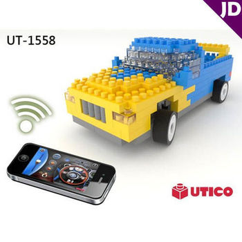【UTICO】智慧手機遙控積木車-Truck 卡車 1558
