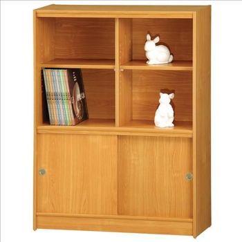【時尚屋】[RC5]豪豐3x4尺玻璃拉門書櫃A08-1