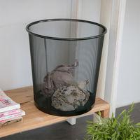 【ikloo宜酷屋】寬口密網垃圾桶/紙簍桶